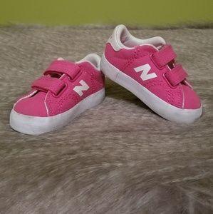 Pink New Balance size 3 toddler/baby